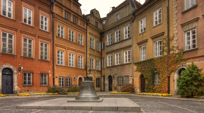 Площадь Канония в Варшаве