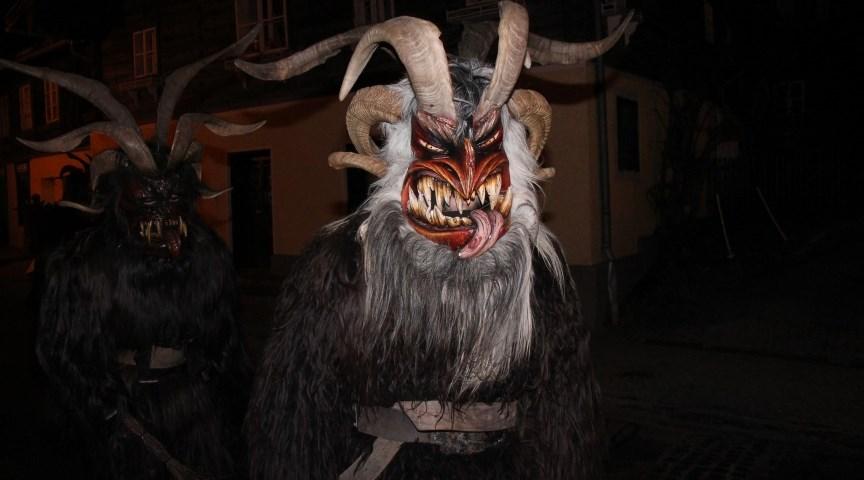 Парад призраков Перхтенлауф в Зальцбурге