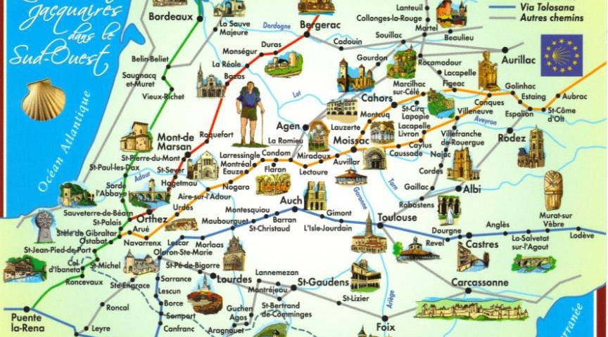 Карта пилигрима