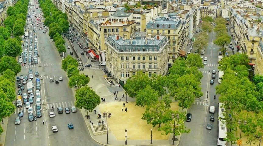 Насладитесь видами на город Париж