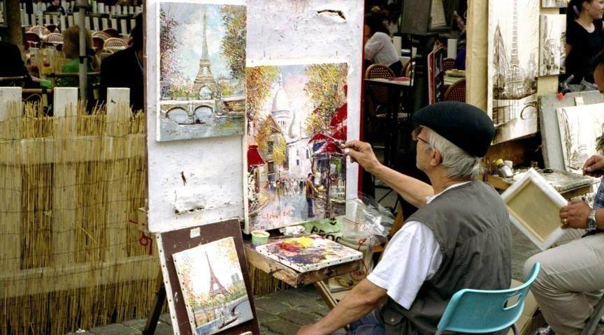 Закажите портрет у художника в Париже