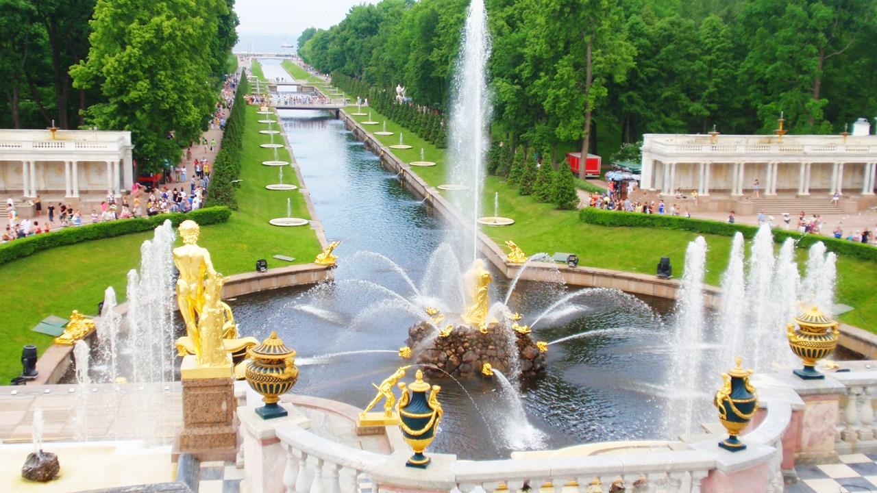 петергоф дворцово парковый фото предстоит встречать