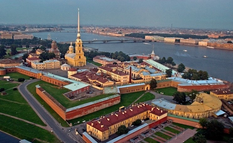 санкт-петербург петропавловская крепость фото