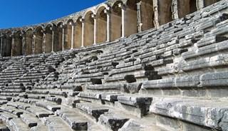 Превью фото о Амфитеатре Аспендоса