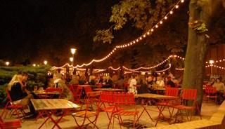 Превью фото о Пивном саде Prater