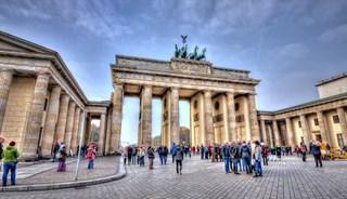 Превью фото о Бранденбургских воротах