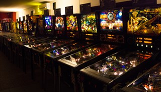 Превью фото о Музее Pinball