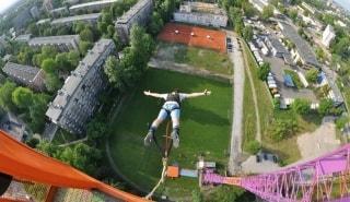 Превью фото о Bungee Jumping