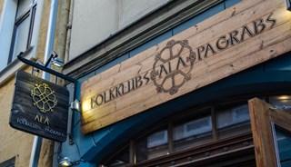 Превью фото о Баре Folkklubs Ala Pagrabs