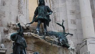 Превью фото о Фонтане Охота короля Матьяша