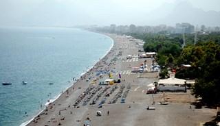 Превью фото о Пляже Коньяалты