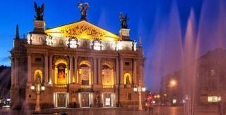 Превью фото о Львовском оперном театре
