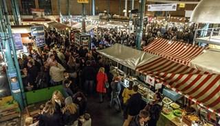 Превью фото о Крытом рынке «Markthalle Neun»