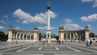 Фото Памятник тысячелетия Венгрии