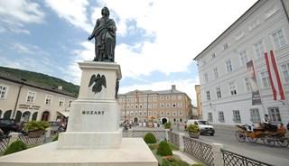 Превью фото о Памятнике Моцарту