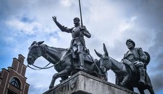 Превью фото о Памятнике Дон Кихоту и Санчо Пансо
