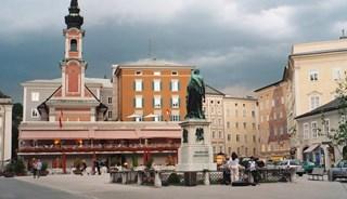 Превью фото о Площади Моцарта