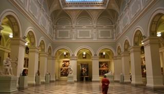 Превью фото о Музее изобразительны искусств