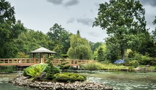 Превью фото о Японском саде