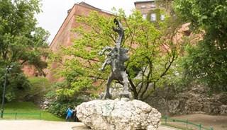 Превью фото о Памятнике дракону