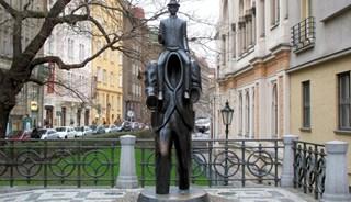 Фото Памятник Францу Кафке