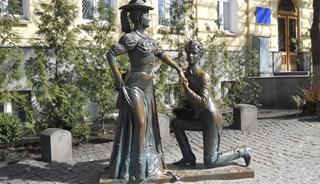 Превью фото о Памятнике «За двумя зайцами»