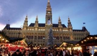 Превью фото о Площади Rathausplatz