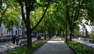 Превью фото о Приморском бульваре