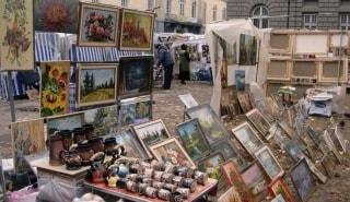 Превью фото о Рынке Вернисаж