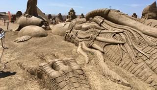 Превью фото о Музее Песчаных Фигур