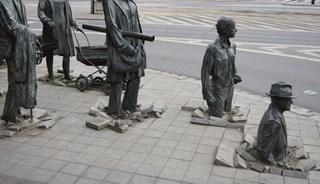 Фото Скульптурная группа «Переход 1977-2005»