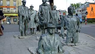 Превью фото о Скульптурной группе «Переход 1977-2005»