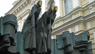 Превью фото о Скульптуре «Три Музы»