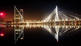 Фото Вантовый мост