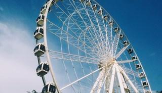 Превью фото о Колесе обозрения Sziget Eye