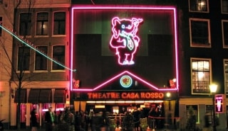 Превью фото о Театре секса «Casa Rosso»