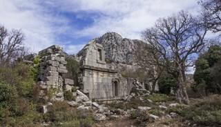 Превью фото о Древнем городе Термессос
