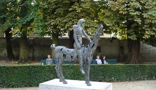 Превью фото о Скульптуре Всадника Апокалипсиса