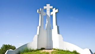 Превью фото о Памятнике «Три креста»