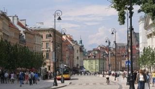 Превью фото о Улице Krakowskie Przedmiescie