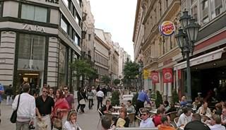 Превью фото о Улице Ваци