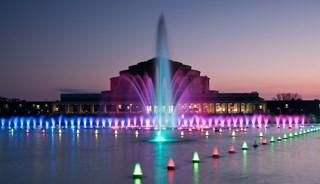 Превью фото о Мультимедийном фонтане