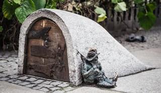 Превью фото о Скульптурах гномов