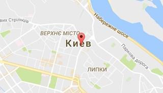 Маршрут Поездка в Киев