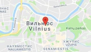 Маршрут Поездка в Вильнюс