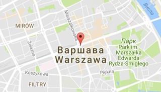 Маршрут Поездка в Варшаву