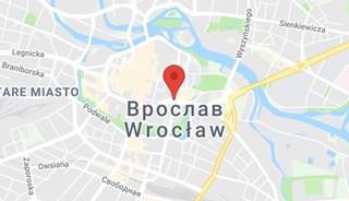 Маршрут Поездка в Вроцлав